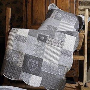 JETÉE DE LIT - BOUTIS Lovely Casa P47118001 Arkansas Boutis Couvre-Lit C