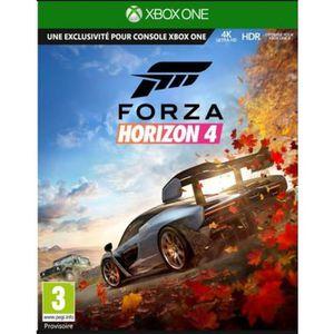 JEU XBOX ONE À TÉLÉCHARGER Forza Horizon 4 Xbox One - Code de téléchargement