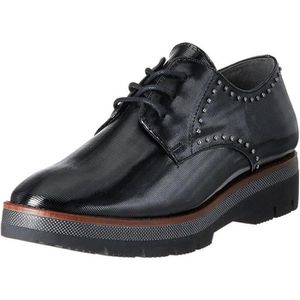 DERBY chaussures a lacets derbies noirs femme marco tozz