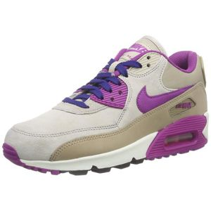 BASKET Nike baskets air max 90 pour femmes, en cuir 3ON26