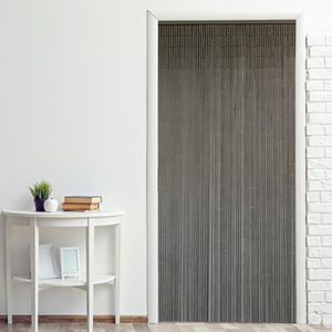 RIDEAU DE PORTE Rideau de porte bambou ''Uni'' 90 x 200 cm à pendr