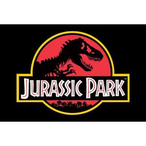 AFFICHE - POSTER Affiche Maxi Jurassic Park Logo