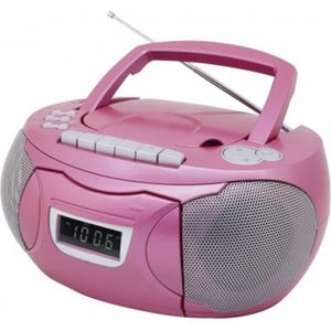 ENREGISTREUR SOUNDMASTER SCD5750PI Enregistreur radio CD - Rose