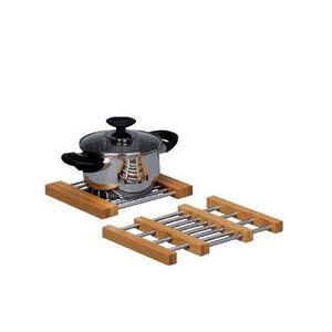 DESSOUS DE PLAT  Zeller 25299 Dessous de plat extensible en bamb…