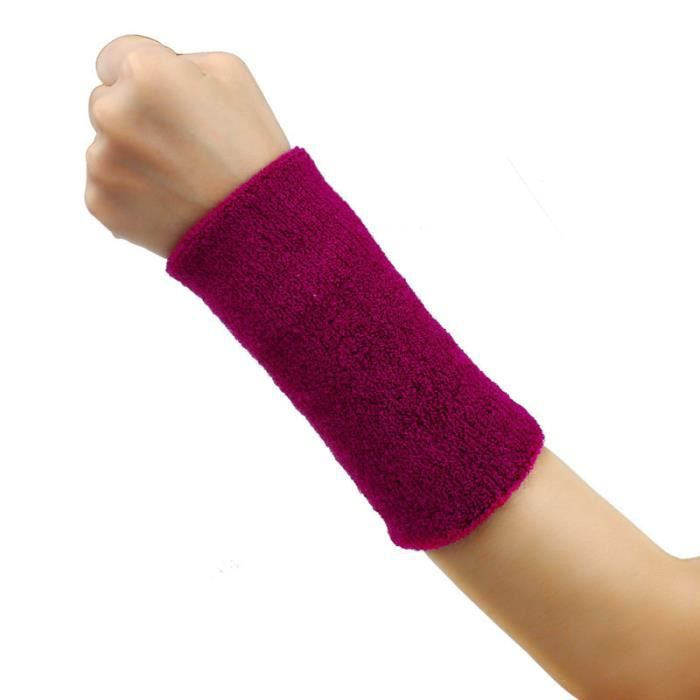 KIT PROTECTION Bande de sueur Bandeau de poignet Bande de bras Basketball Tennis Gym Yoga PP ke016