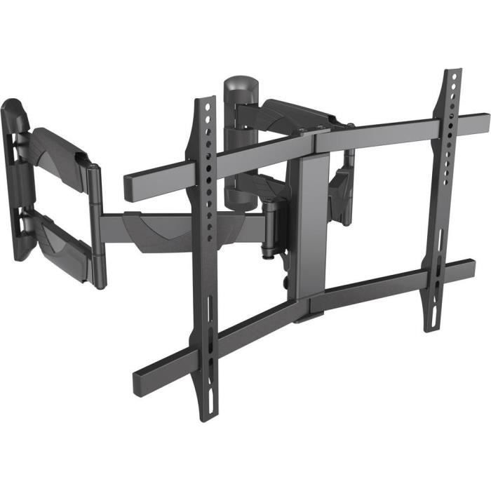 Support TV pour recoins SpeaKa Professional 29215C41 37- - 70- inclinable + pivotable, rotatif noir