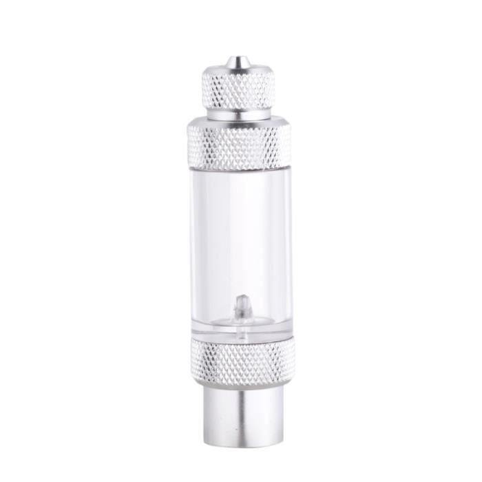 1Pc compteur de bulles de CO2 diffuseur à tête unique de anti-retour régulateur de clapet pour l'eau AQUARIUM
