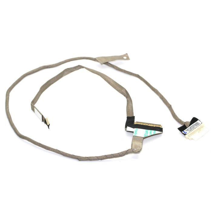 Nappe vidéo LVDS pour pc portable Toshiba Satellite C660 Series DC020011Z10