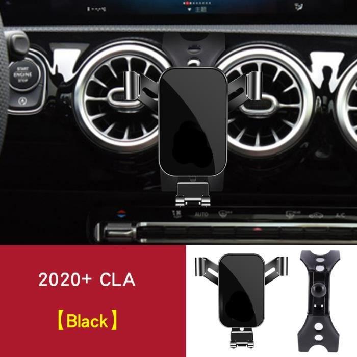 Supports voiture,Support de Navigation avec ventilation intérieure de téléphone, pour mercedes cla w117 - Type W118 C118 black