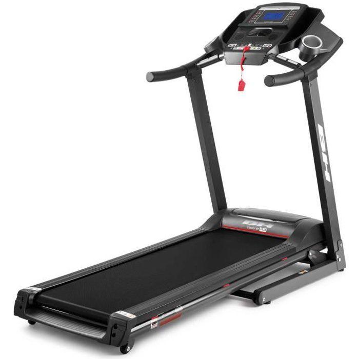 BH Fitness Tapis de Course PIONEER R3 G6487 - 18 Km/h - 125 x 44 cm - Inclinaison éléctrique 12% max - 8 ANS DE GARANTIE