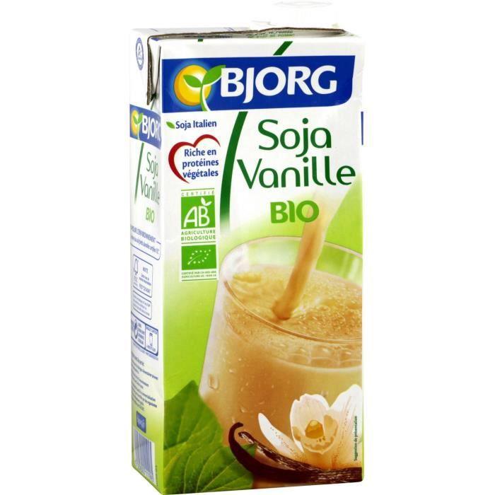 BJORG Soja Vanille Bio 1L