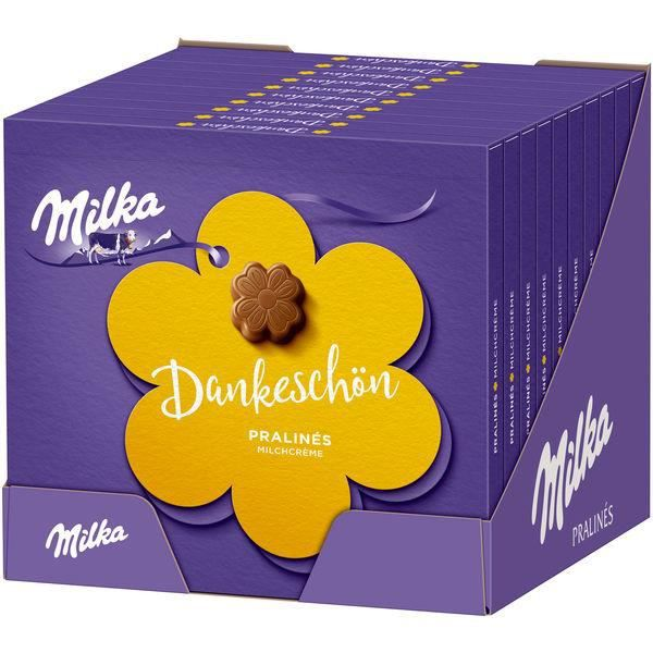 Milka -Thank You- Pralines crème de lait 110g (Pack de 10)