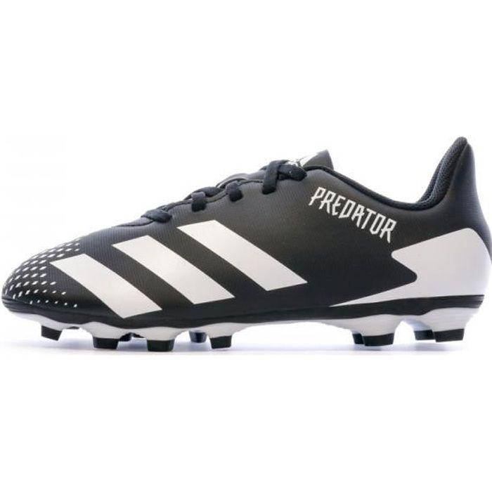 Predator 20.4 FXG Chaussures de foot Noires Enfant Adidas