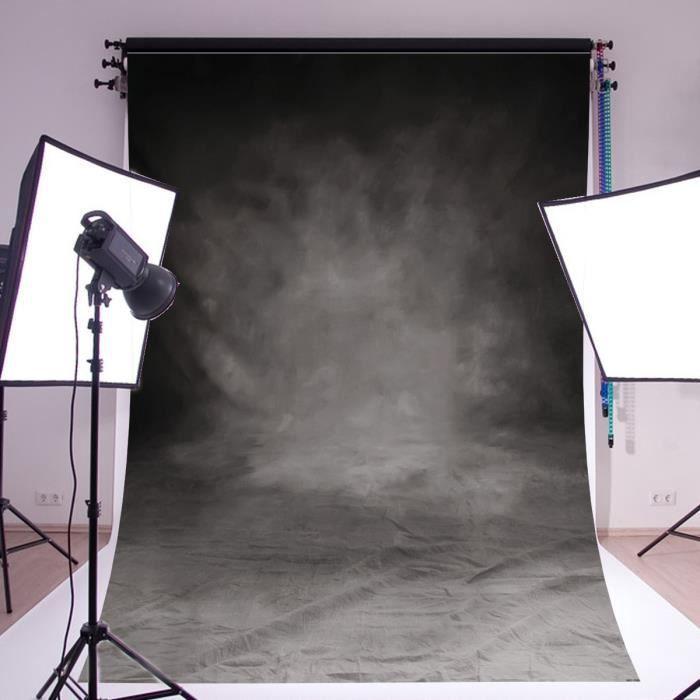 TEMPSA Toile de Fond Rétro Gris Pour Studio 300x210cm