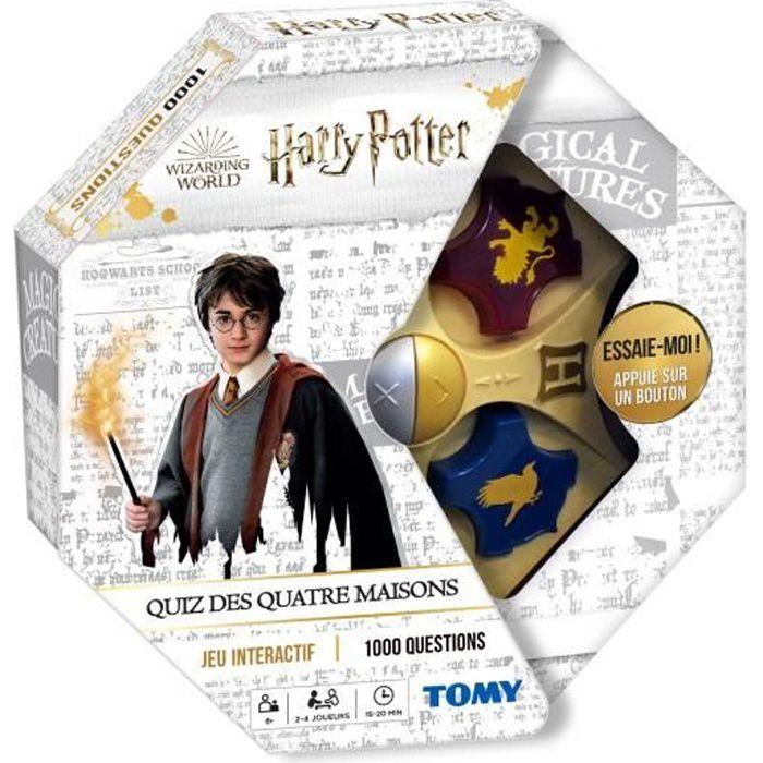 Jeu Harry Potter - Le quiz des 4 maisons