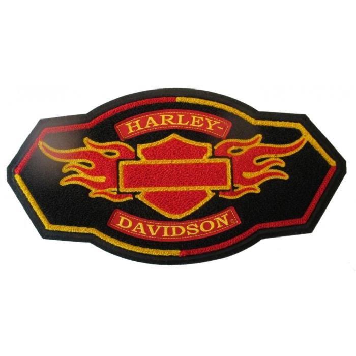 Harley Davidson Écusson patch Modèle Skull badge Taille environ 16,0 cm X 9,0 cm
