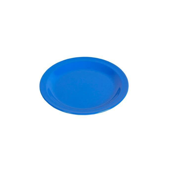WACA Mélamine Assiette 23,5 cm Ø Granit plat