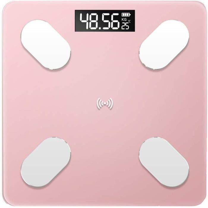 Bathroom Scales Bluetooth poids échelle avec app Digital Graisse Corporelle Échelle Moniteur 2