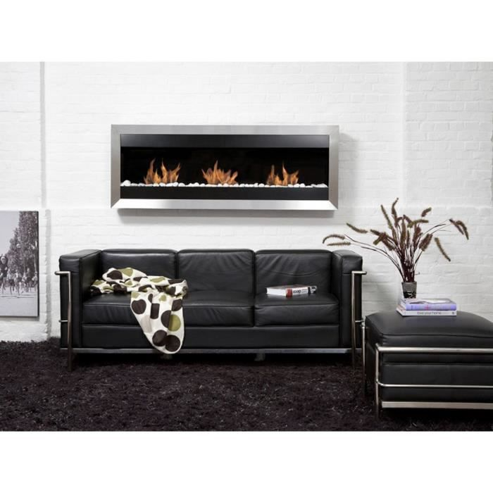 cheminee electrique 2000w luna. Black Bedroom Furniture Sets. Home Design Ideas