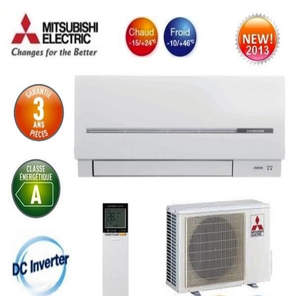 Climatiseur inverter mitsubishi msz sf50ve achat vente for Climatiseur inverter mural