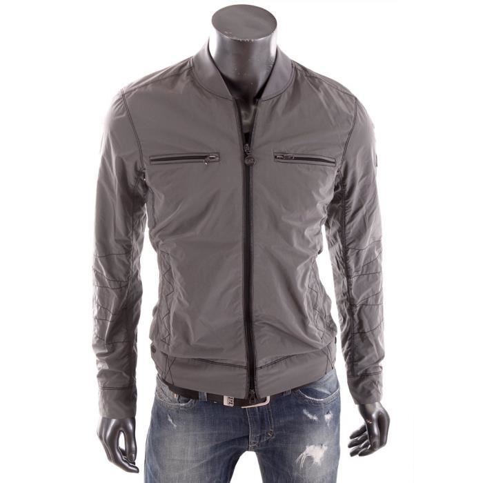 ea7 armani bomber premium veste grise homme t 2015 271638 5p245 gris achat vente veste. Black Bedroom Furniture Sets. Home Design Ideas