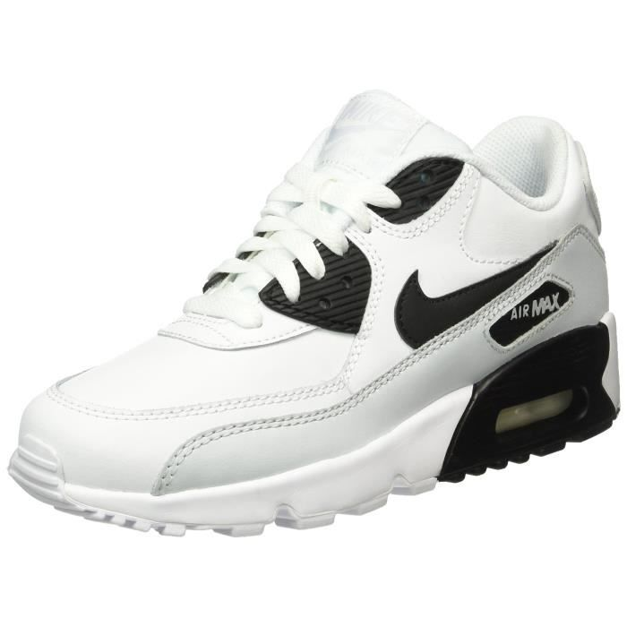 Nike Big Kids Air Max 90 Leather Running Shoes NZVOY Taille-37