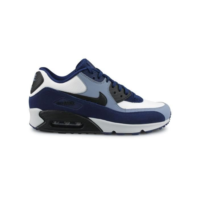Basket Nike Air Max 90 Leather Bleu 302519 400 Bleu Achat