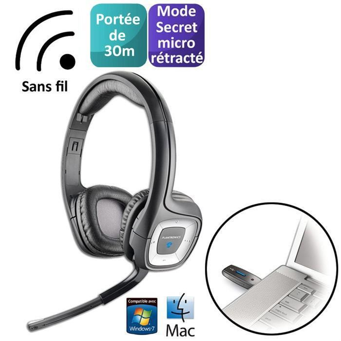 plantronics casque micro sans fil audio 995 prix pas cher cdiscount. Black Bedroom Furniture Sets. Home Design Ideas