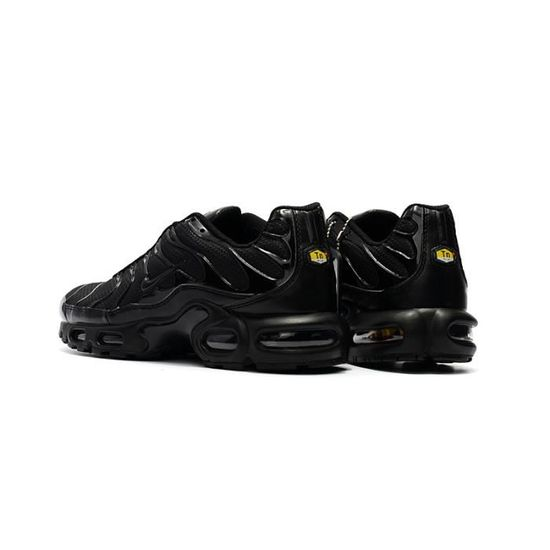 size 40 super popular good out x Basket Nike Air Max Plus 1 TN Txt Homme Chaussures de sport 604133-050  Noir/Noir
