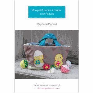 Papier Cadeau-Rose Panier Pâques Paniers œuf Pochettes herbe