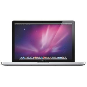 "Vente PC Portable Apple MacBook Pro Core i7-2635QM Quad-Core 2.0GHz 4Go 500Go DVD et PlusMinus; RW Radeon HD 6490M 15.4 ""OS X avec Webcam (début pas cher"