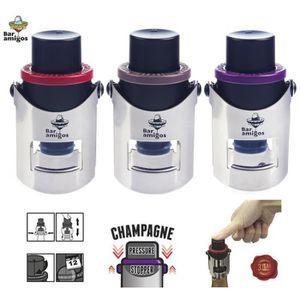 CHAMPAGNE Bar Amigos Triple Value Pack de 3 Champagne Pressu