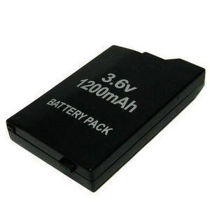 BATTERIE DE CONSOLE Batterie 1200mAh pour PSP 2000-PSP 3000 bes5652