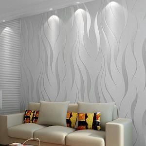 PAPIER PEINT 10m papier peint 3D intissé moderne minimaliste co