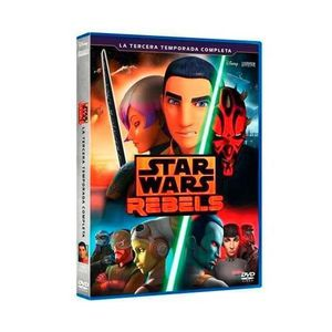 DVD FILM Star Wars Rebel (STAR WARS REBELS LA TERCERA TEMPO