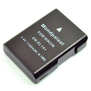 BATTERIE APPAREIL PHOTO Batterie EN-EL14 1100mah pour Nikon D5300 D3300 Df