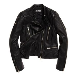 BLOUSON Vêtements femme Vestes Superdry Lyla Leather Racer