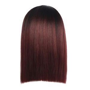 PERRUQUE - POSTICHE Rouge Mode Cheveux synthétiques de charme 1