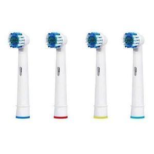 BROSSE A DENTS 4 pcs remplacement électrique des dents de brosse