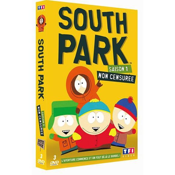 dvd south park saison 1 en dvd film pas cher parker trey. Black Bedroom Furniture Sets. Home Design Ideas
