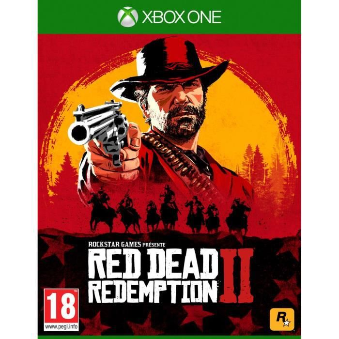 JEU XBOX ONE Red Dead Redemption 2 Jeu Xbox One