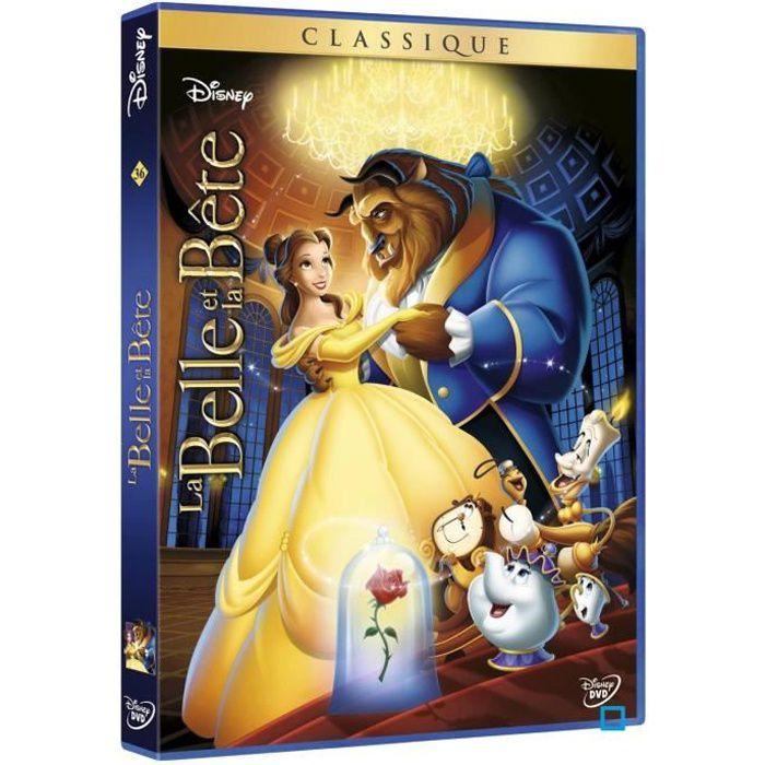 DVD DESSIN ANIMÉ DVD La belle et la bête