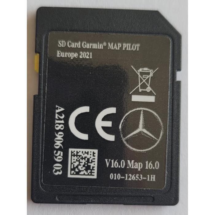 Carte SD GPS MERCEDES GARMIN MAP PILOT Europe 2021 - STAR1 - v16 - A2189065903
