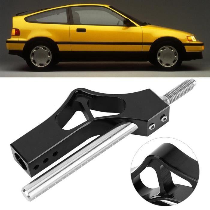 Levier de prolongateur de vitesse, levier de levier de vitesses réglable en aluminium pour voiture à rallonge de bouton de