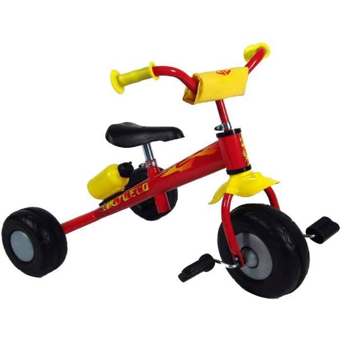 Unbekannt Veronese Métal Tricycle pour Enfants Soxx Enfants Tricycle Vélo pour Enfant Trike Bouteille Boisson Rouge
