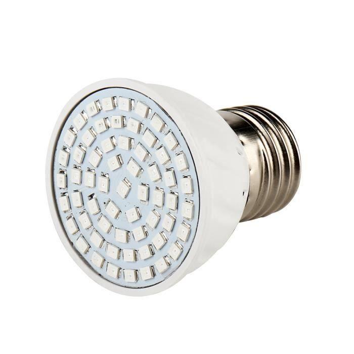 3W E27 Ampoule 60 Leds Lampe Plante Croissance Floraison Eclairage horticole Intérieur culture 204LM AC220V