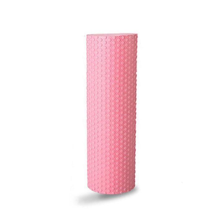 AVANC Rouleau de Massage en Mousse EVA Sport Fitness solide ROSE