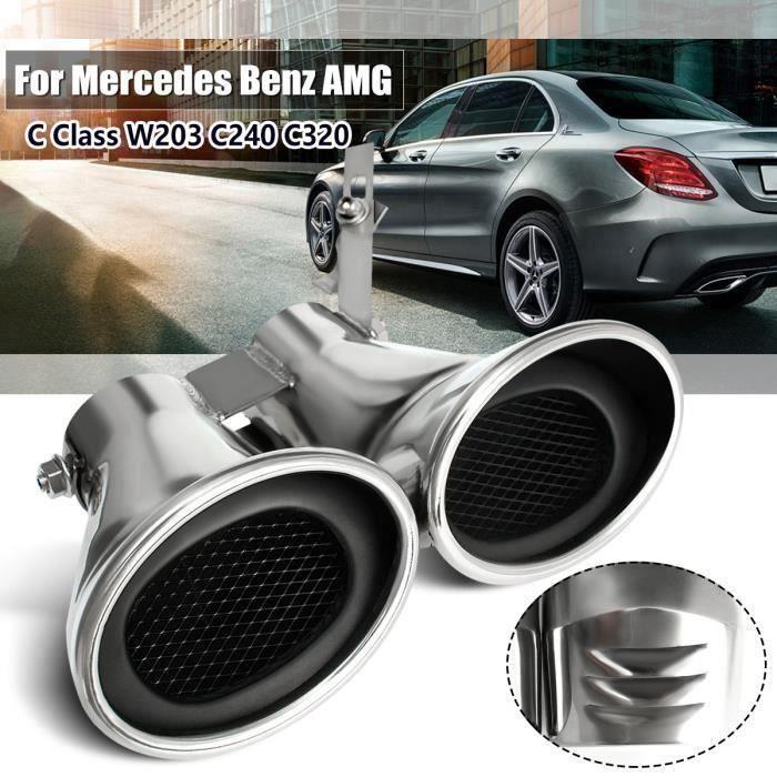Embout Pot d 'échappement Muffer Pour Mercedes-Benz AMG C Class W203 C240 C320