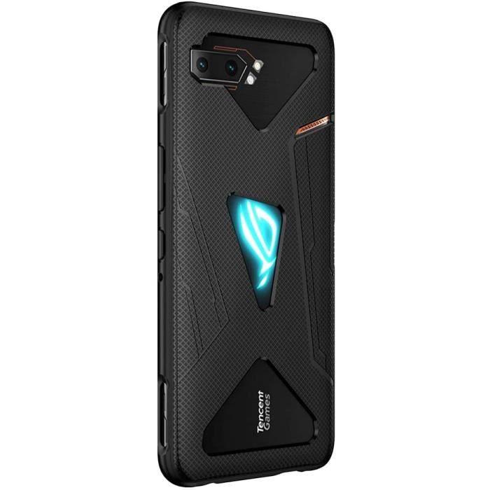 Coque ASUS ROG Phone 2, Ultra-Mince Flexible TPU Case, Anti Empreintes Digitales Phone Coque [Slim Fit] [Résistant à l'usure] [RT