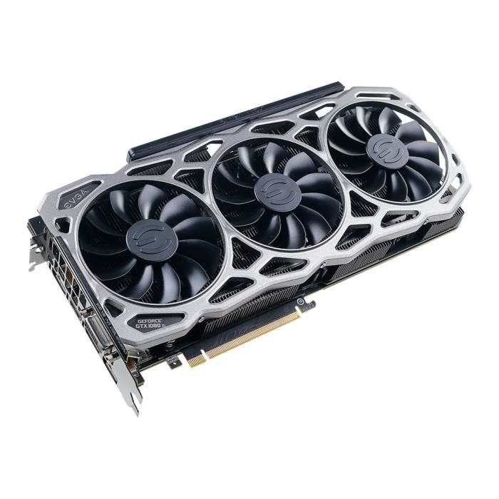 EVGA Carte Graphique GeForce GTX 1080 Ti FTW3 GAMING
